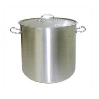 Kettle 98 L stainless steel, sandwich bottom with lid