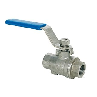 Ball valve 1 stainless steel, with full passage
