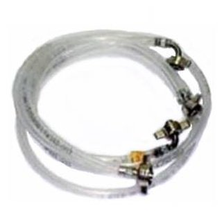 Set of 10 mm beer connection and 4 mm CO2 hose