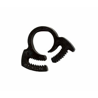 Hose clamp nylon black 12-14 mm