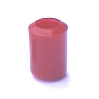 Cover bow foot red or gray with 4.8 mm inner diameter