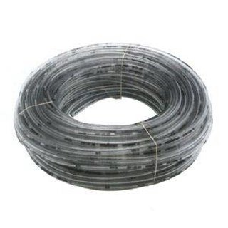 Beer hose / CO2 hose clear PVC, 4 mm diameter inside, up to 10 bar with SK number for professional use