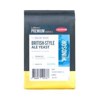 LALLEMAND trocken Bierhefe Windsor Ale, 500 g
